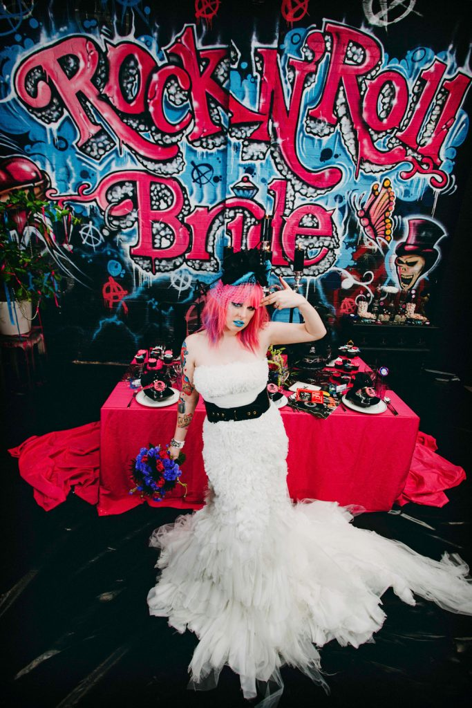 Rock n Roll Bride Kat Williams