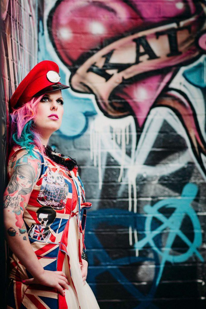 Kat Rock n Roll Bride