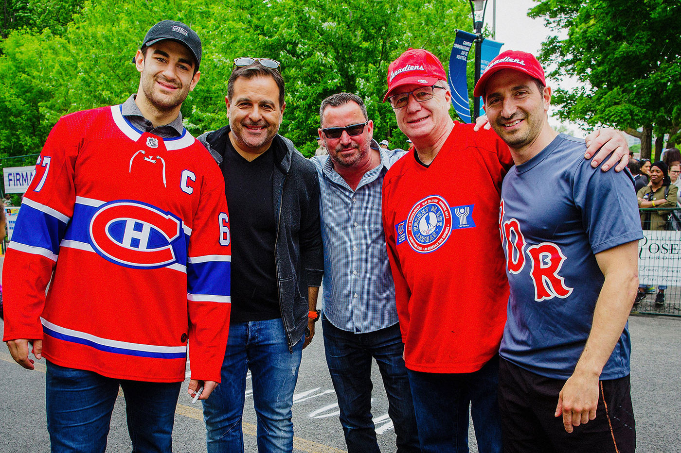 Canadiens Hockey de Rue Montreal