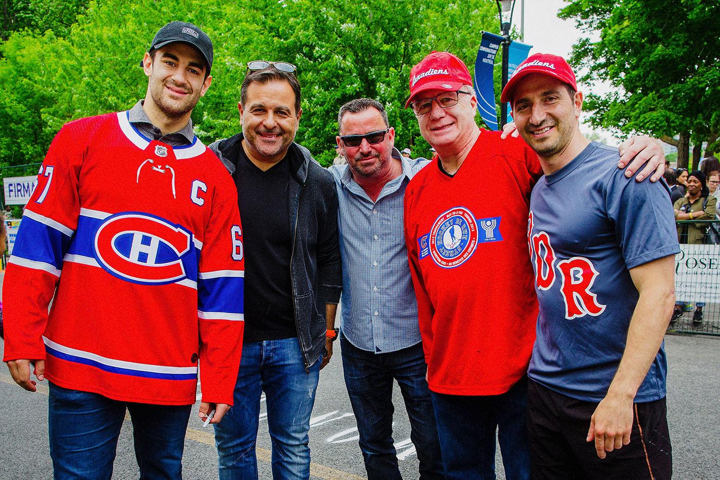 Canadiens Hockey de Rue Montreal